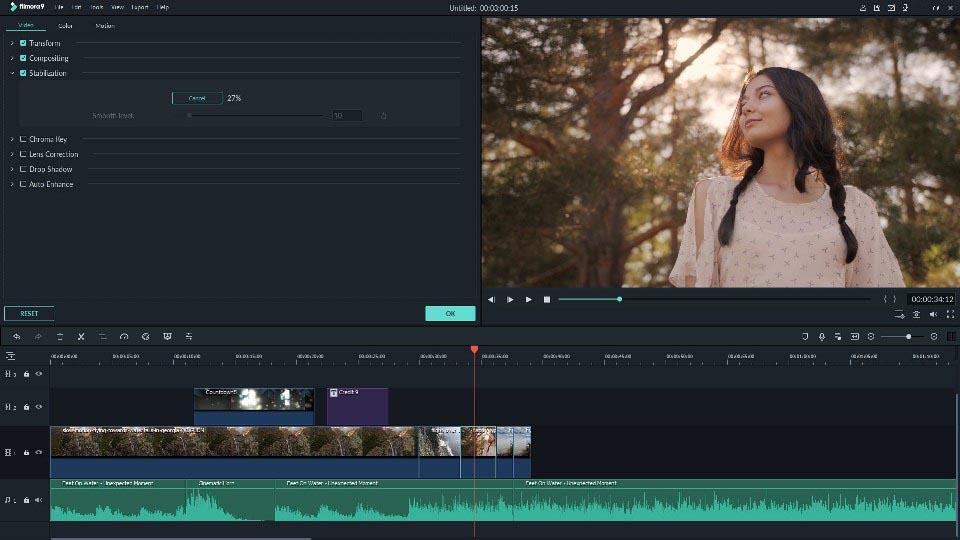 filmora Editing Modes