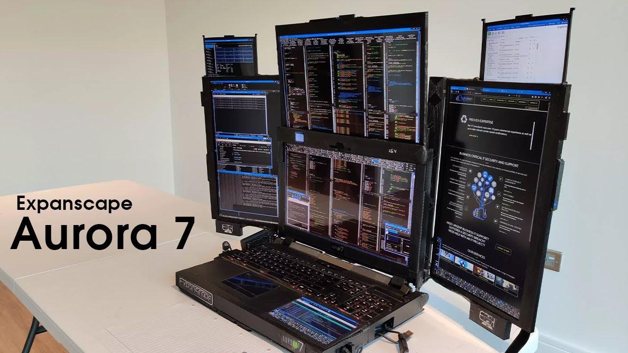 aurora 7 laptop display