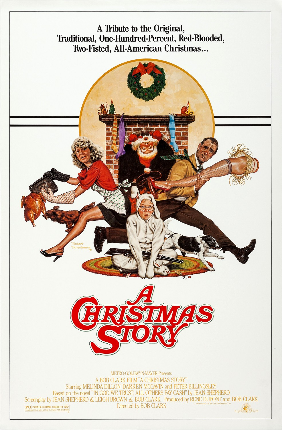 a christmas story 1983 poster